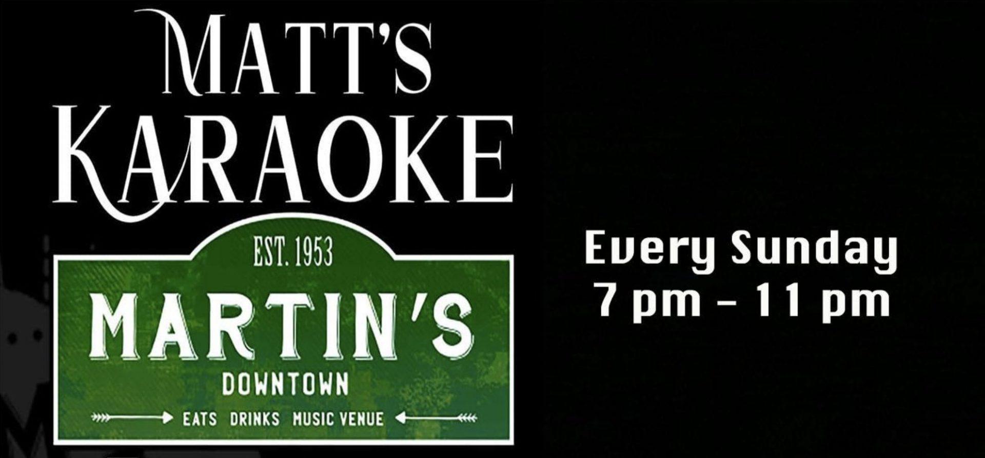 Matt's Karaoke