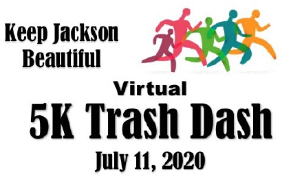 Virtual 5K Trash Dash   Keep Jackson Beautiful