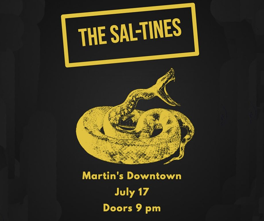 LIVE MUSIC: The Sal-Tines