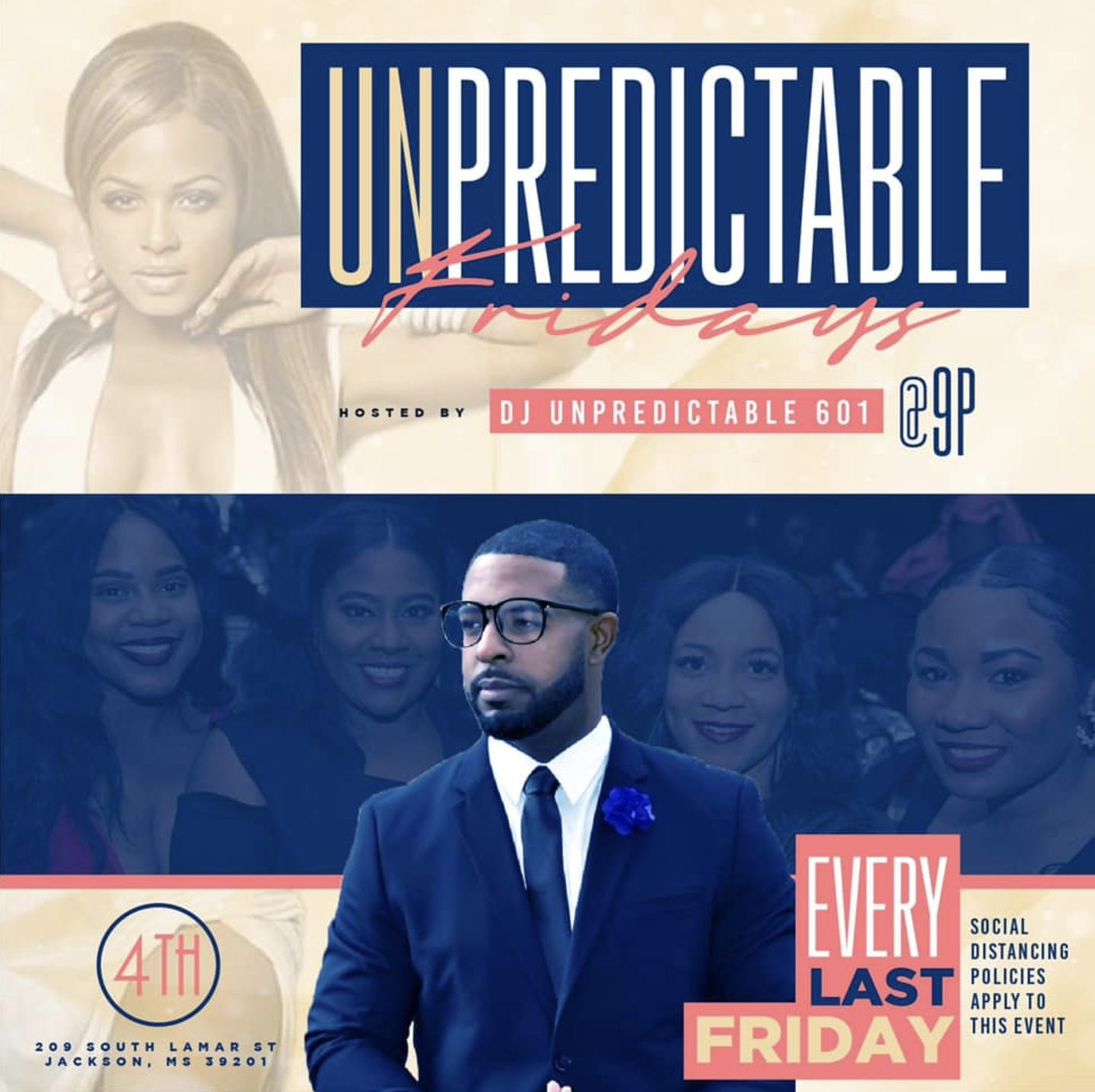 Unpredictable Fridays @ 4th Avenue Lounge