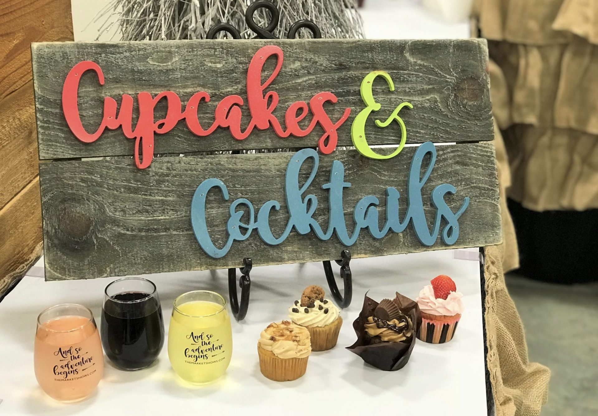 Cupcakes & Cocktails of Jackson | The Market Shows