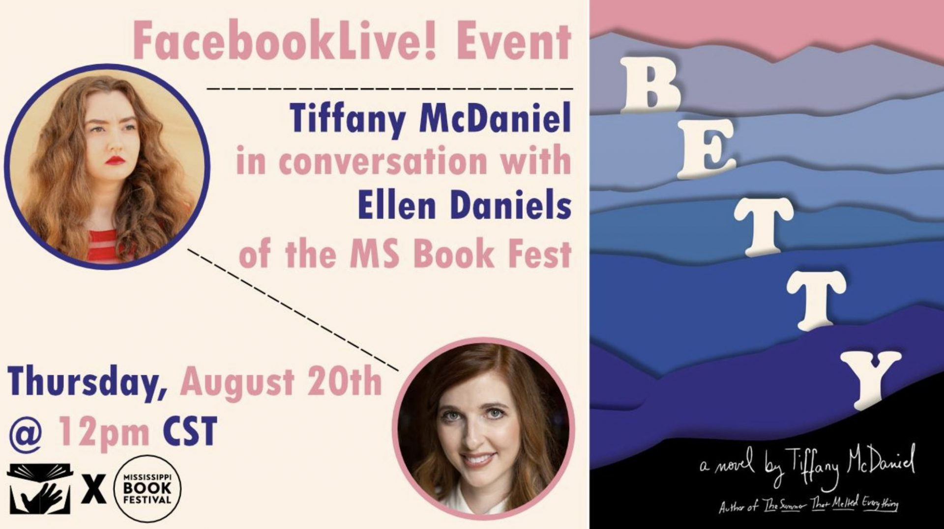Facebook LIVE with Tiffany McDaniel | Virtual Book Event
