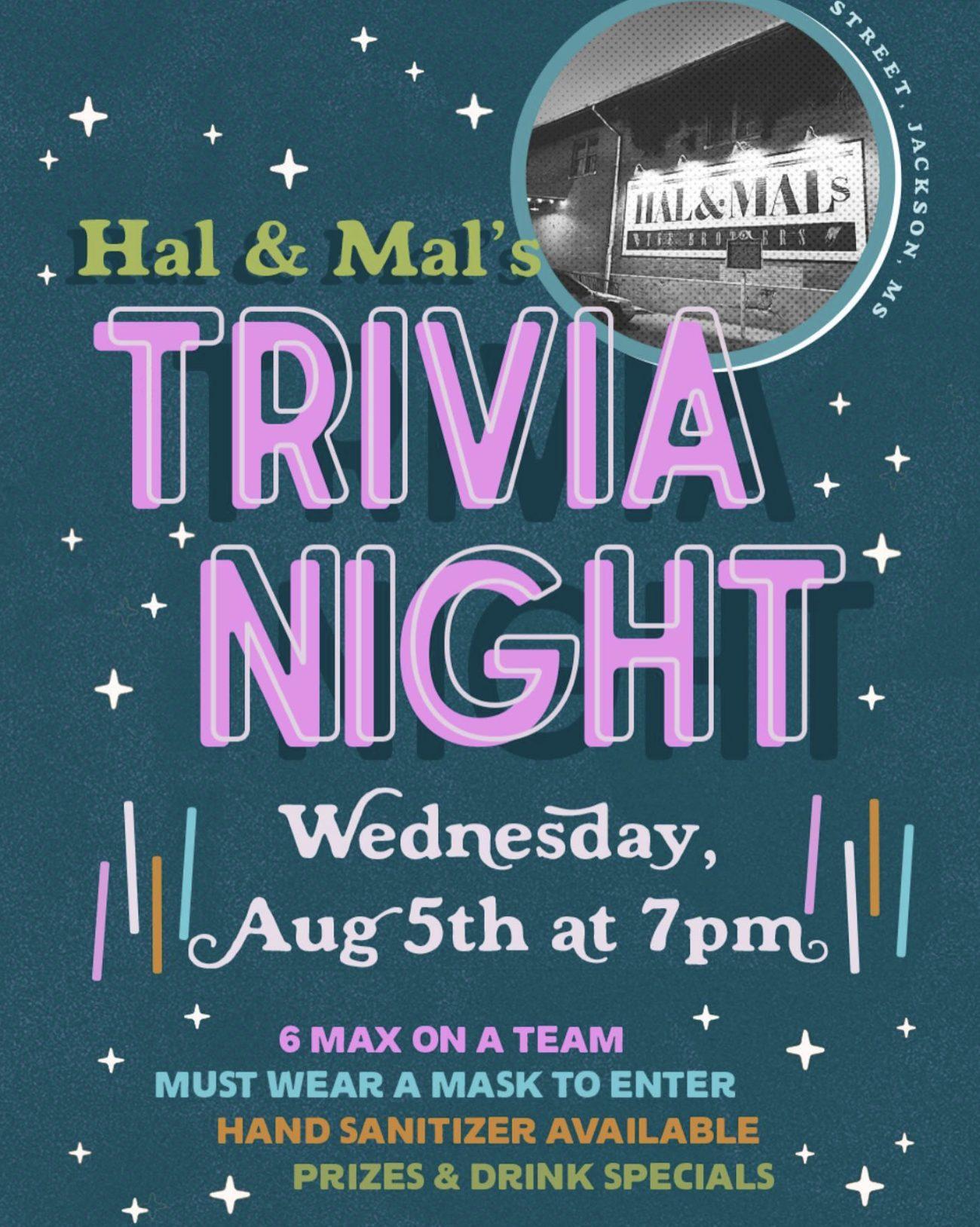 Trivia Night at Hal & Mal's