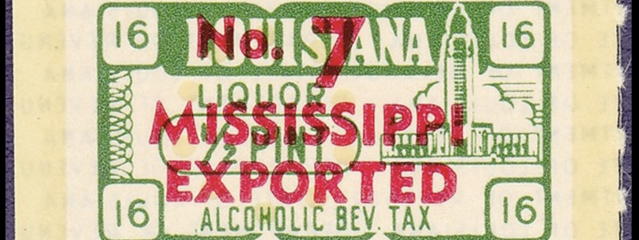 "History Is Lunch: Tom Henderson, ""Mississippi's Black Market Liquor Tax"""