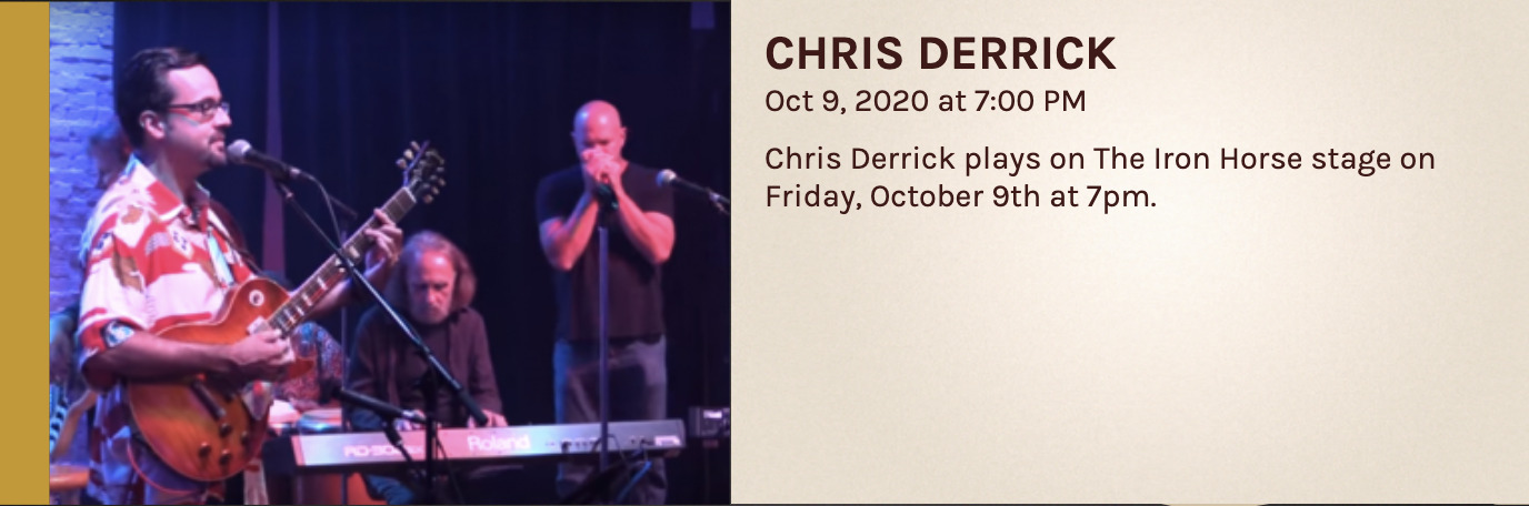 Chris Derrick at the Iron Horse Grill