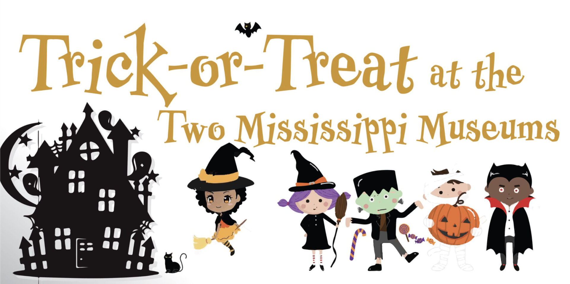 Trick-or-Treat at the Two Mississippi Museums