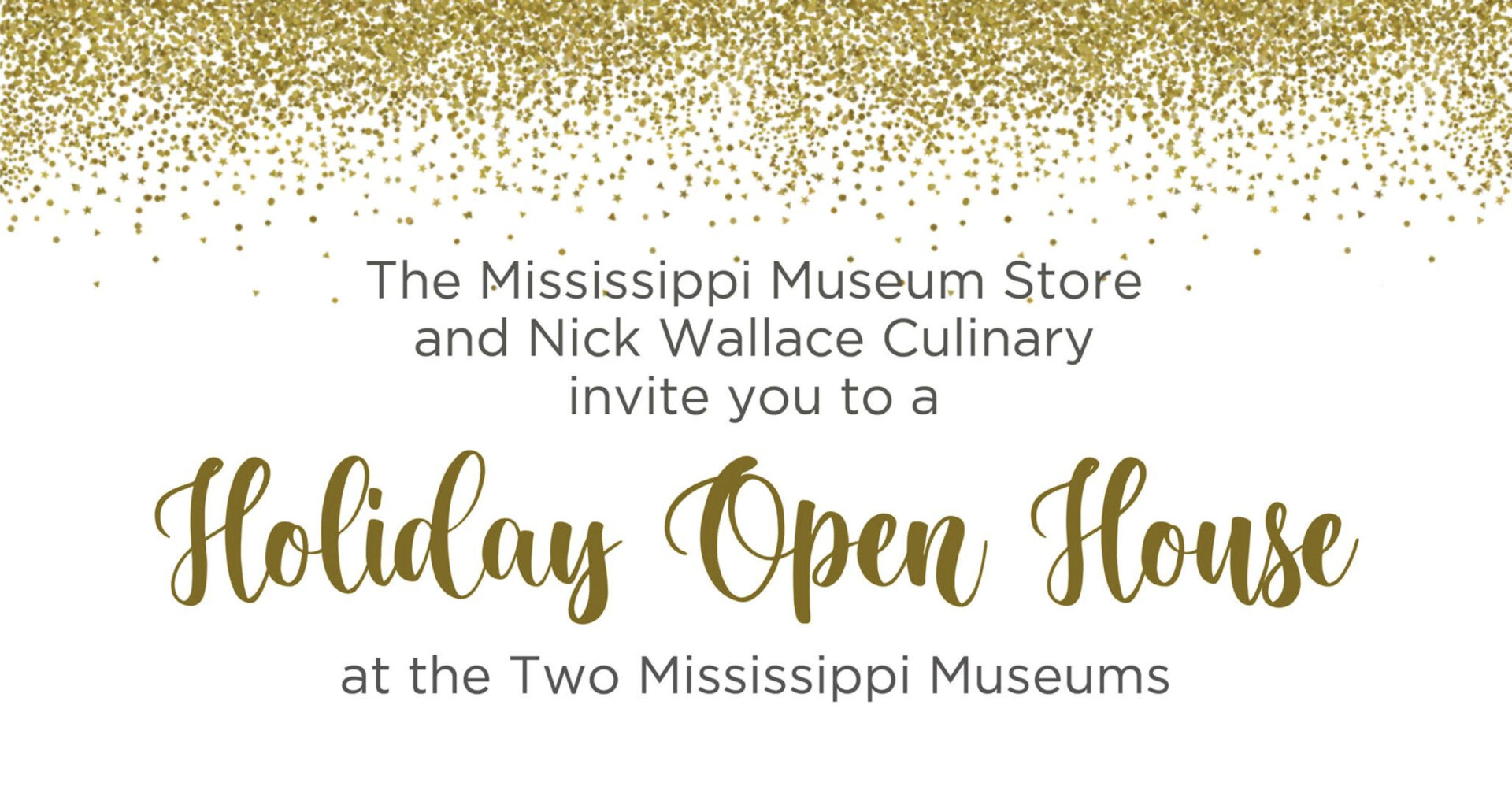 Holiday Open House with Nick Wallace Culinary