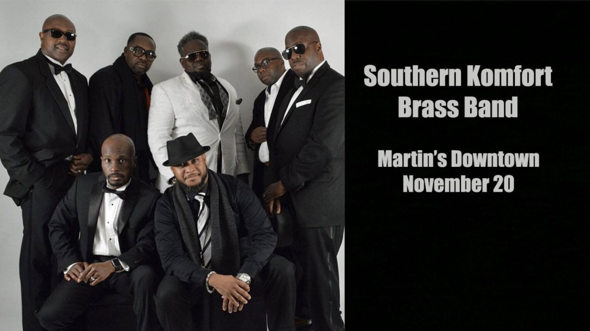 Southern Komfort Brass Band at Martin's Downtown