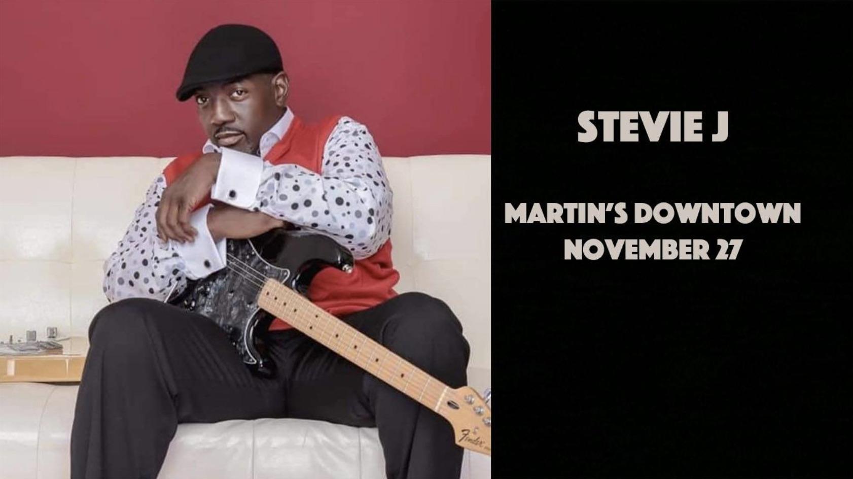 Stevie J at Martin's Downtown