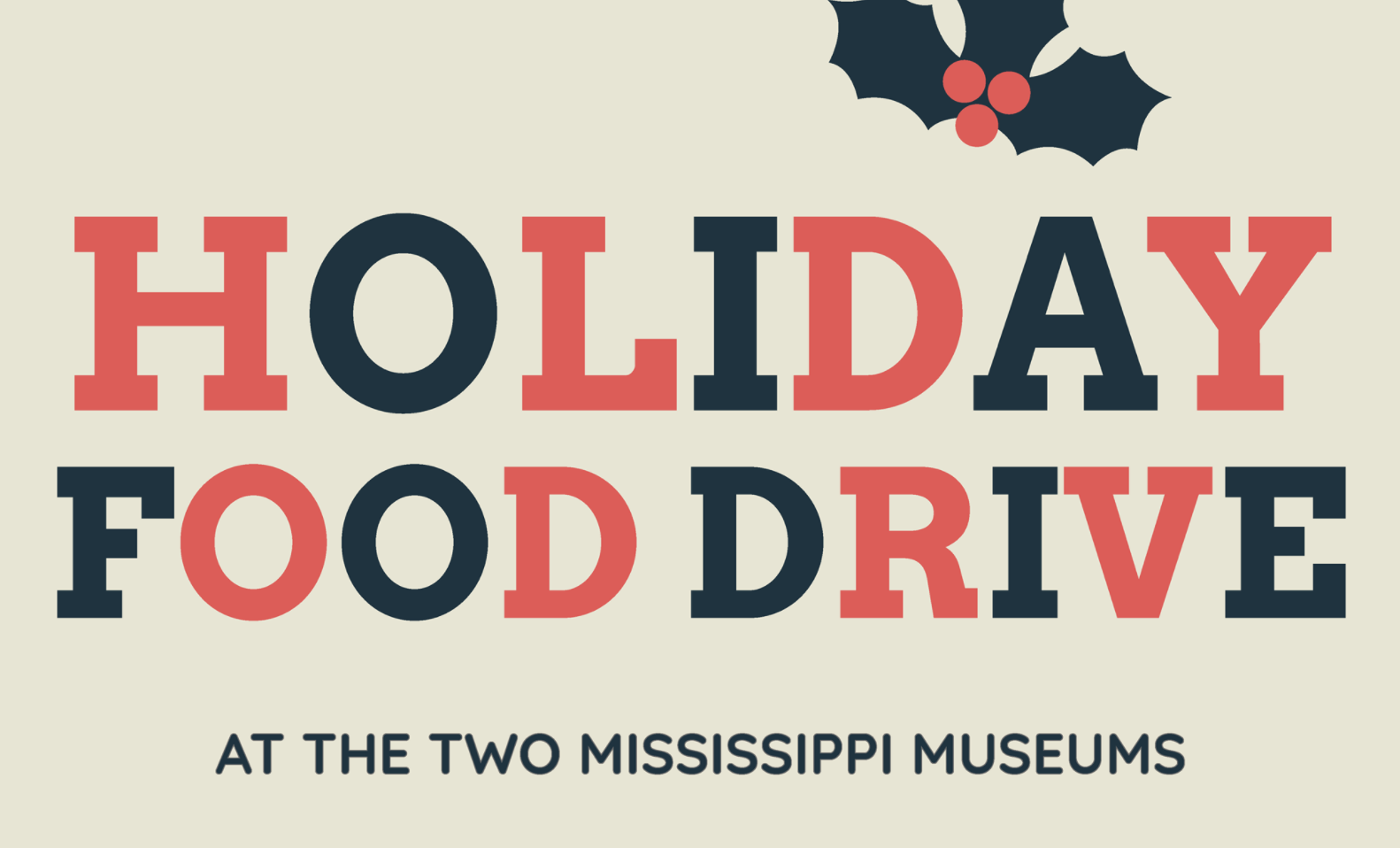 Holiday Food Drive: Mississippi Food Network