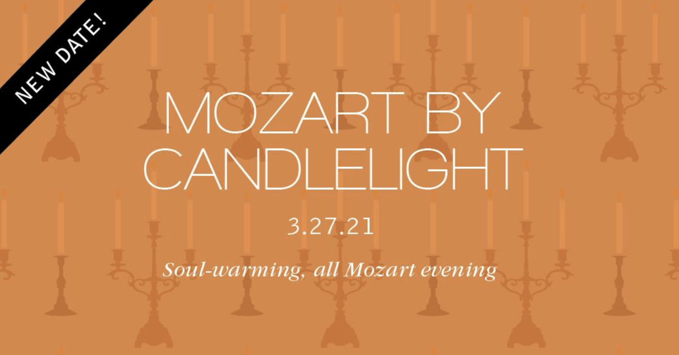 Mississippi Symphony Orchestra: Chamber II – Mozart by Candlelight