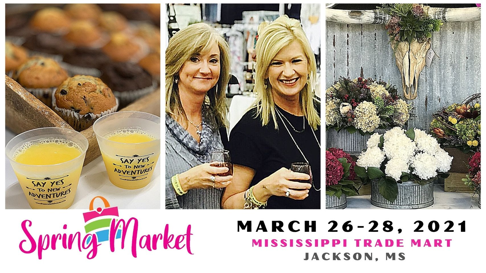 Muffins & Mimosas of Jackson | The Market Shows
