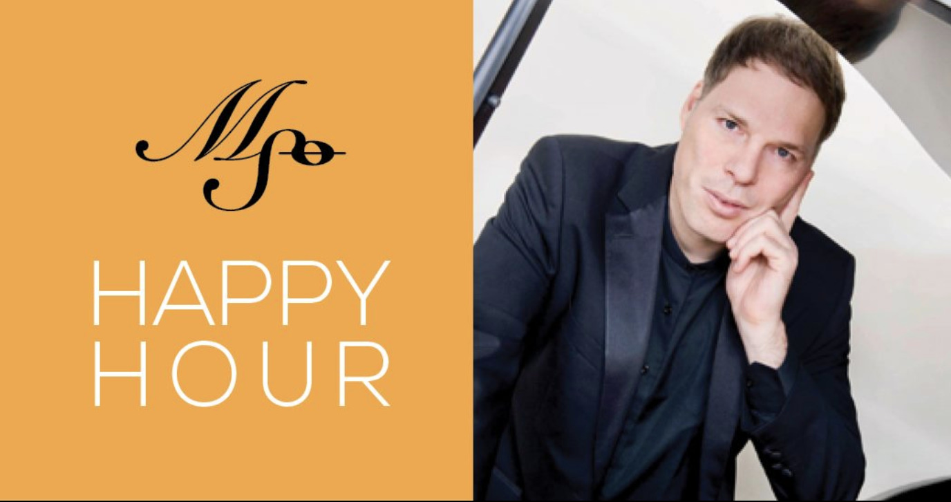 HAPPY HOUR with Crafton Beck & pianist Alon Goldstein!