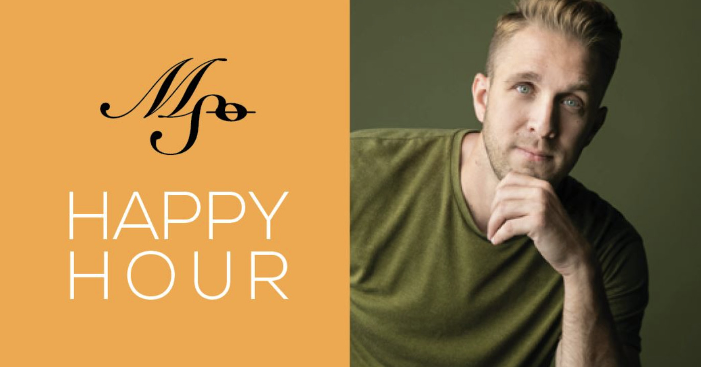 HAPPY HOUR with Crafton Beck & pianist + conductor Brian Eads!