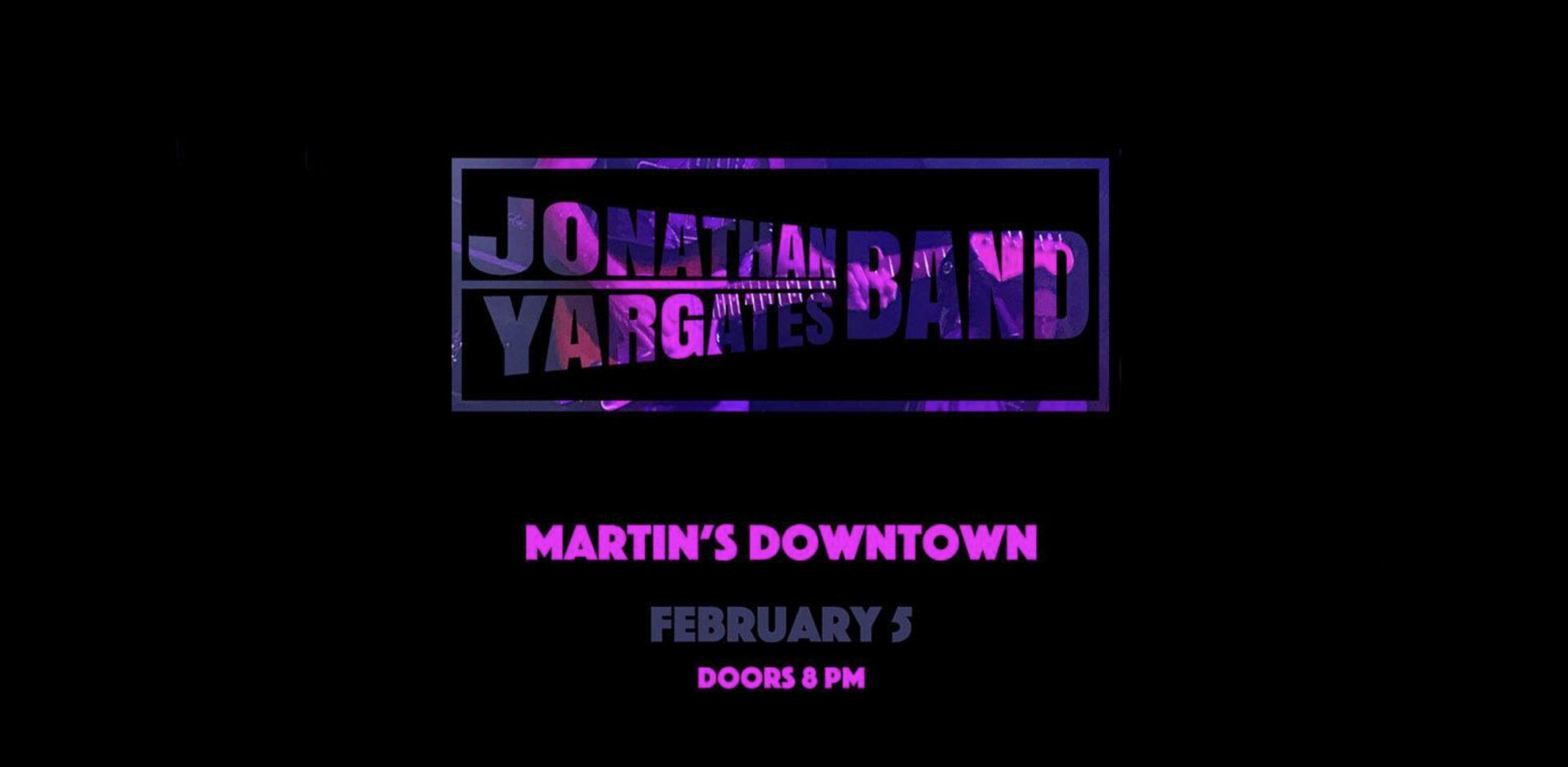 Jonathan Yargates Band
