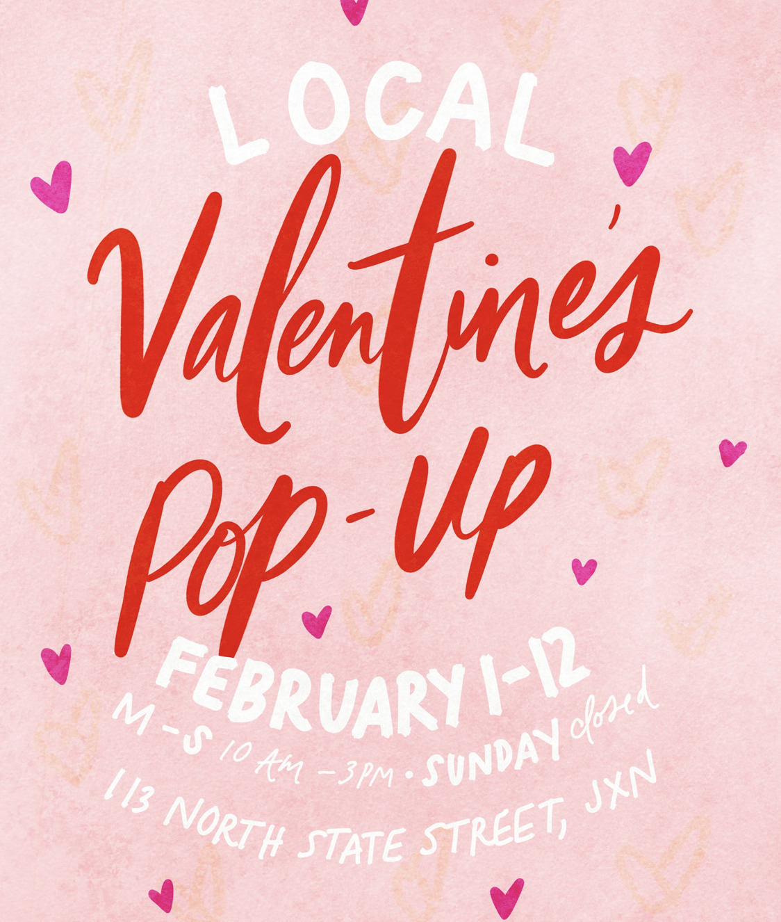 Local Valentine's Pop-Up | Thimblepress