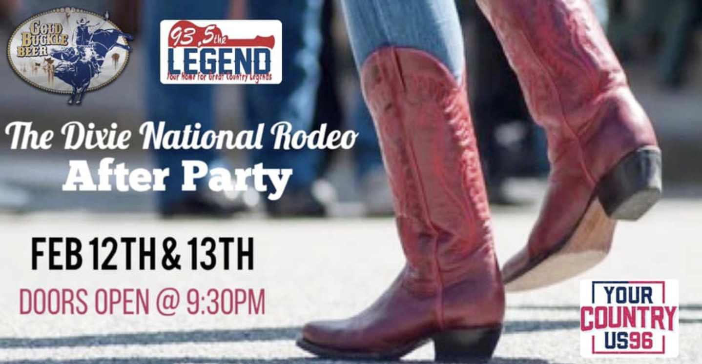 The Dixie National Rodeo After Party!