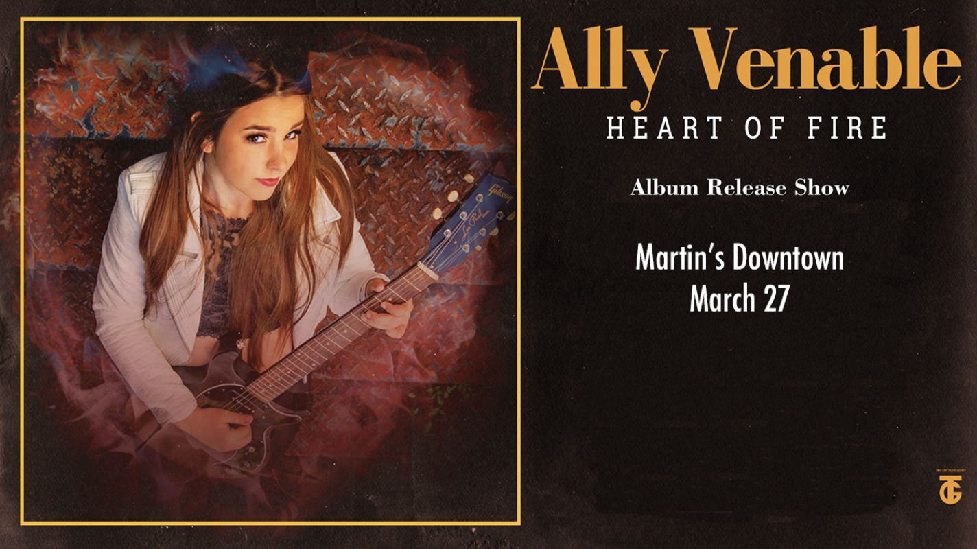 Ally Venable Album Release Show at Martin's Downtown