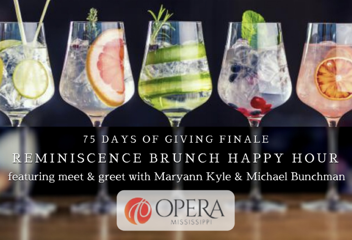 Reminiscence Brunch Happy Hour | Opera MS