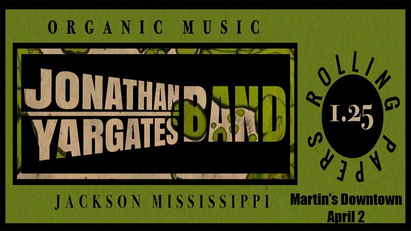 Jonathan Yargates Band at Martin's Downtown
