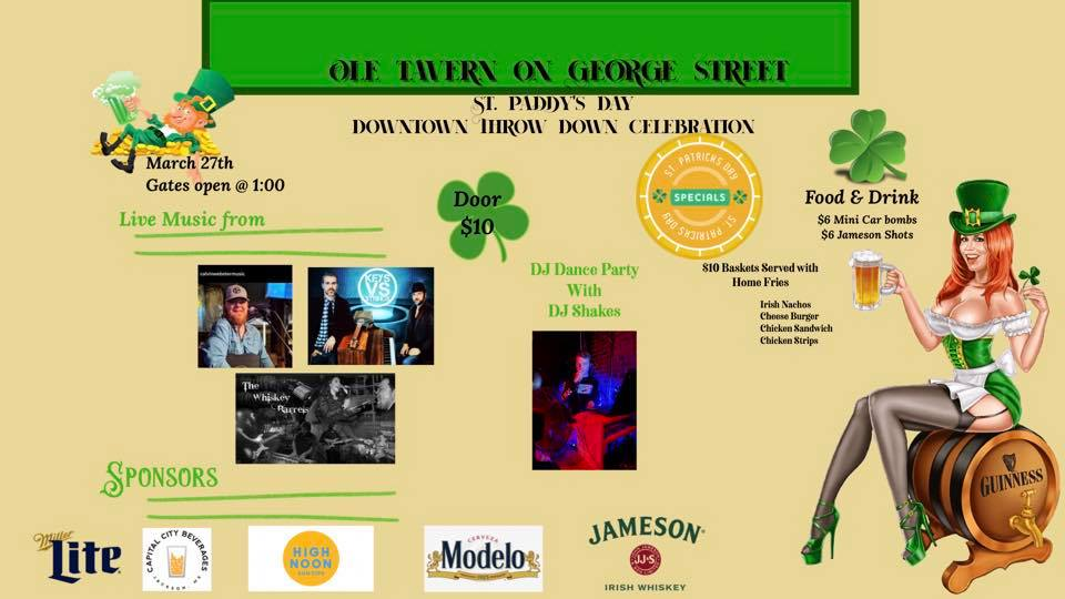 ST PADDY'S DAY DOWNTOWN THROW-DOWN