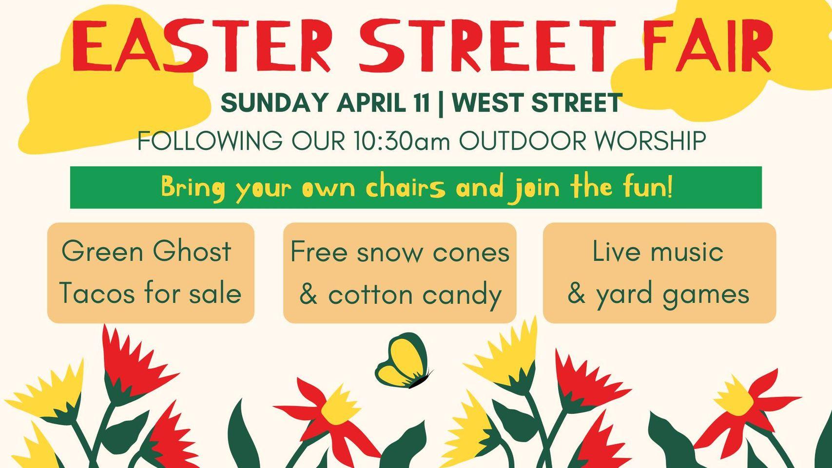 Easter Street Fair