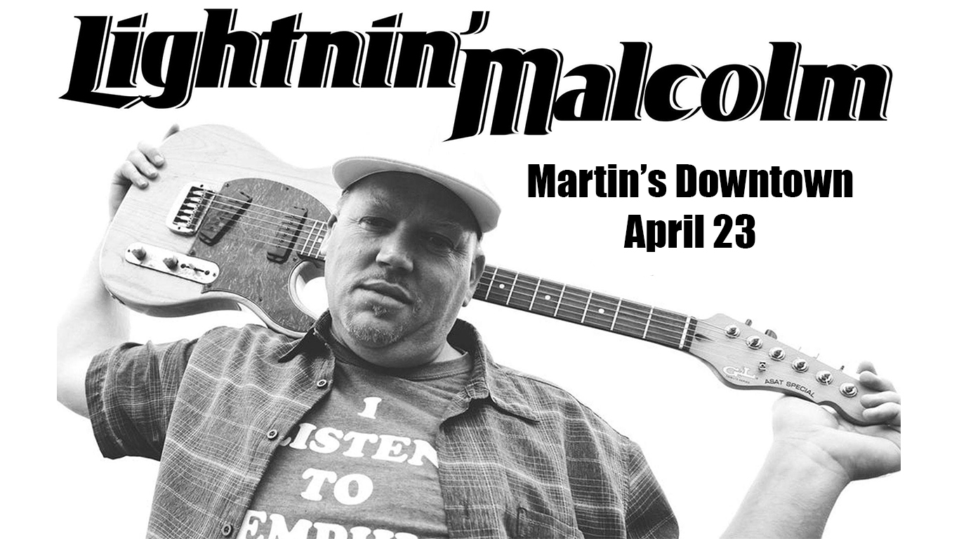 Lightnin Malcolm at Martin's Downtown