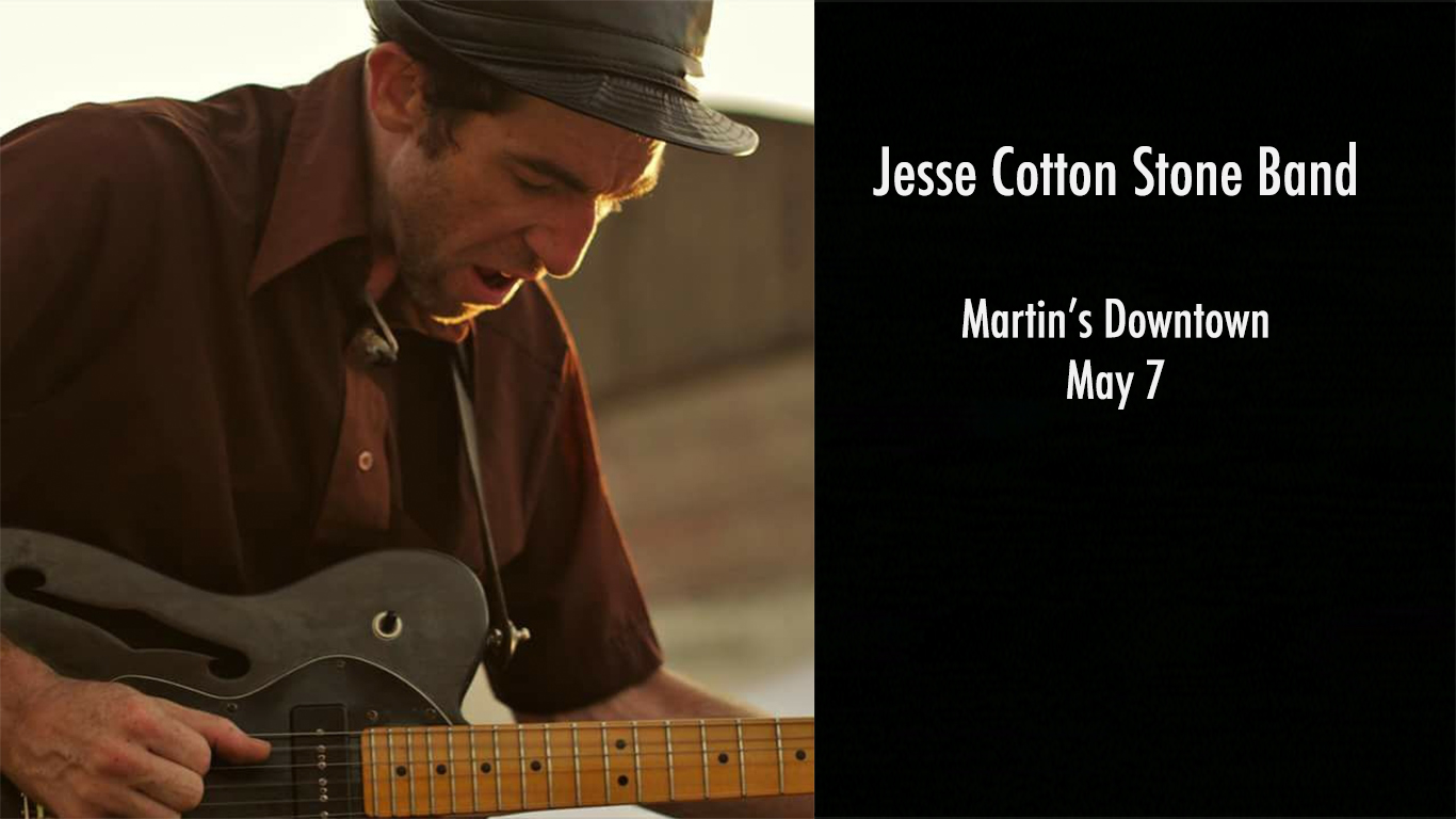 Jesse Cotton Stone Band at Martin's Downtown