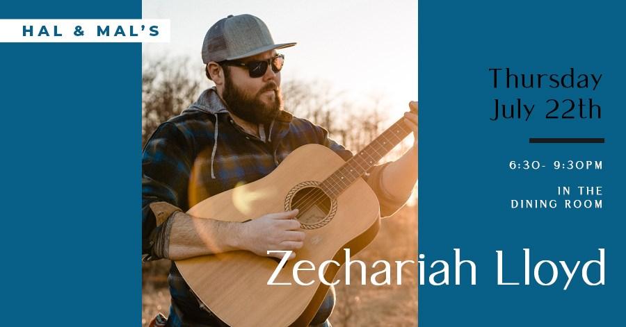 Zechariah Lloyd at Hal & Mal's