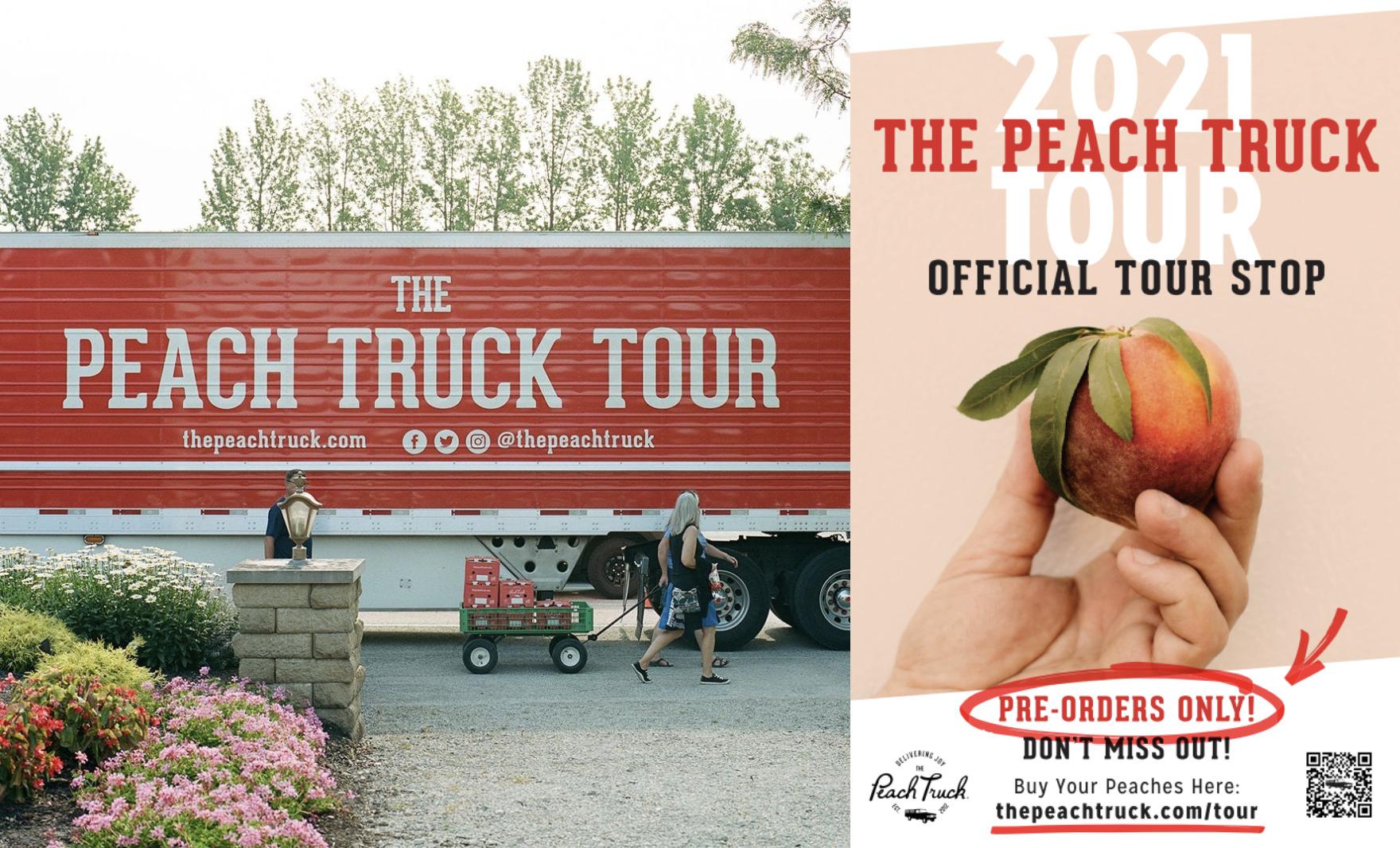 2021 Peach Truck Tour