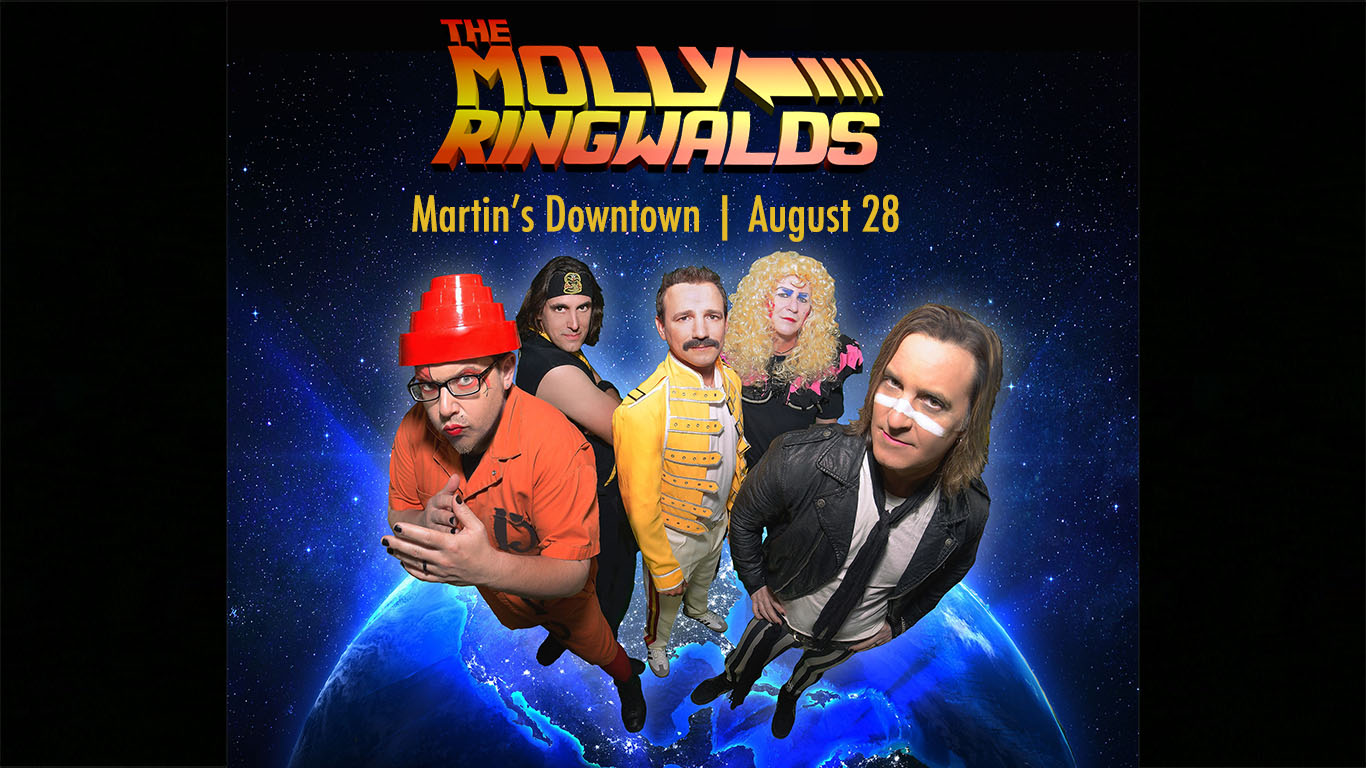 The Molly Ringwalds at Martin's Downtown