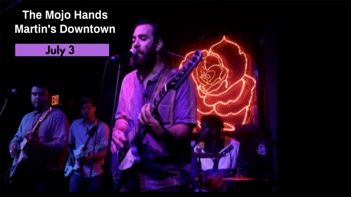 The Mojo Hands at Martin's Downtown