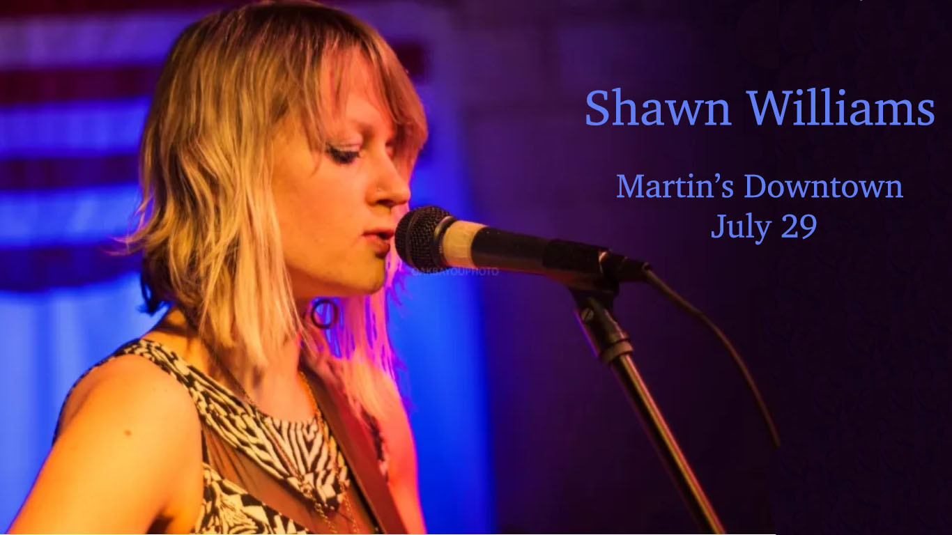 Shawn Williams at Martin's Downtown