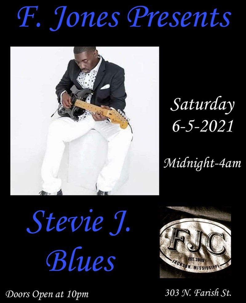 Stevie J. Blues at FJC