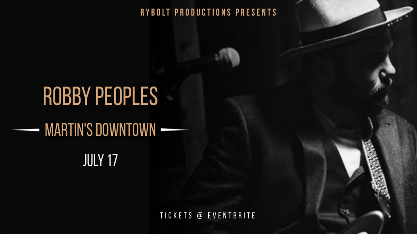 Robby Peoples at Martin's Downtown