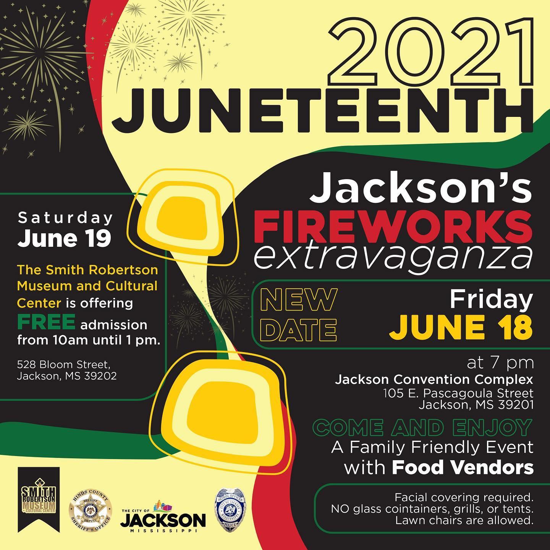 2021 Jackson's Firework Extravganza