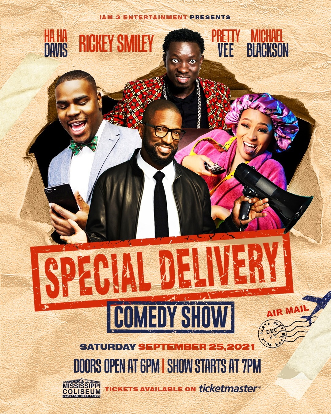 Special Delivery Comedy Show