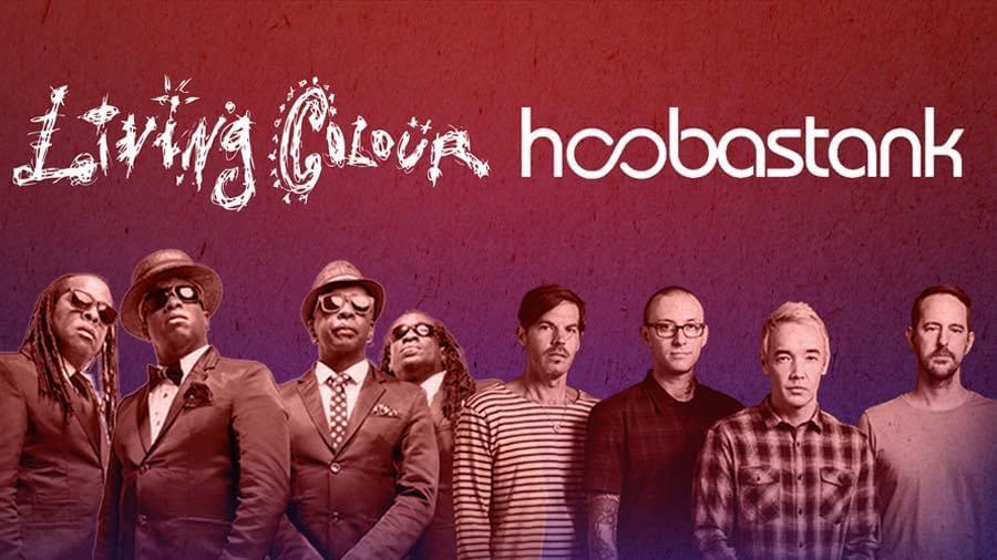 Living Colour & Hoobastank at Hal & Mal's
