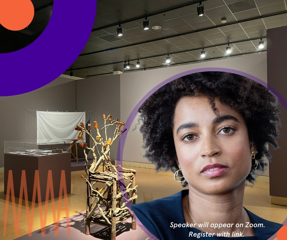 Curator Talk   Call and Response with Rujeko Hockley