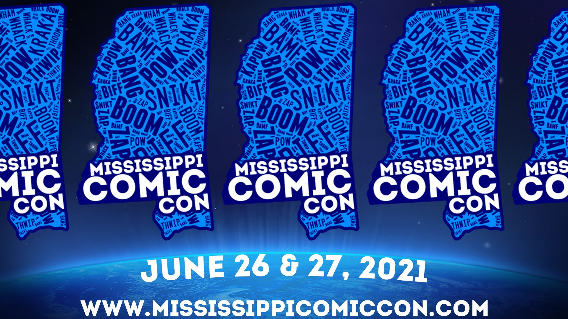Mississippi Comic Convention 2021