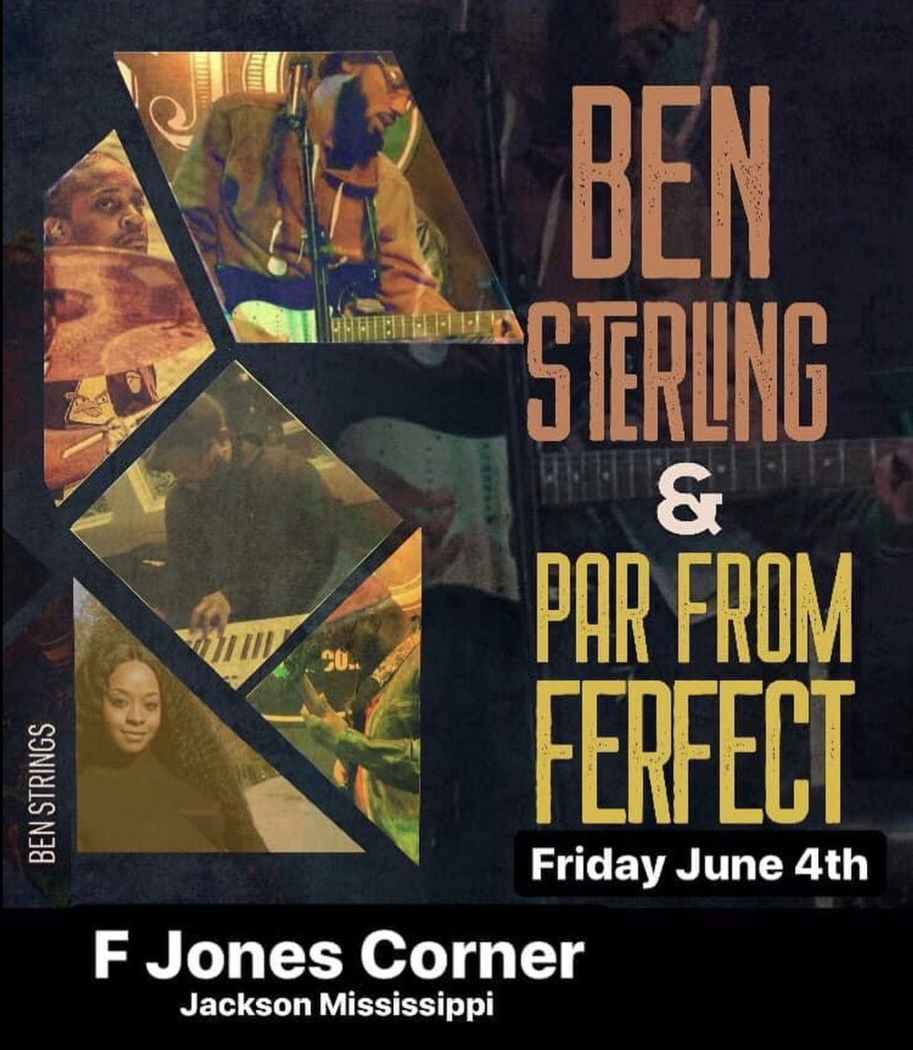 Ben Sterling + Par From Perfect LIVE MUSIC