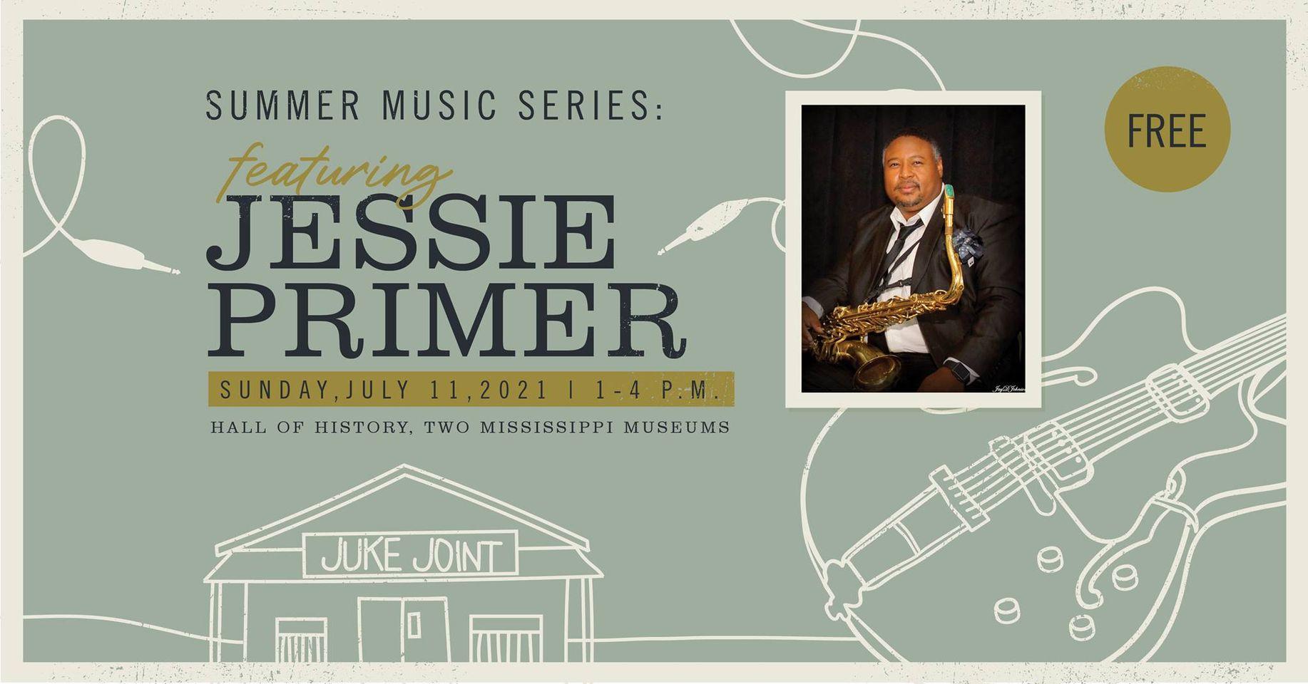 Summer Music Series: Jessie Primer III