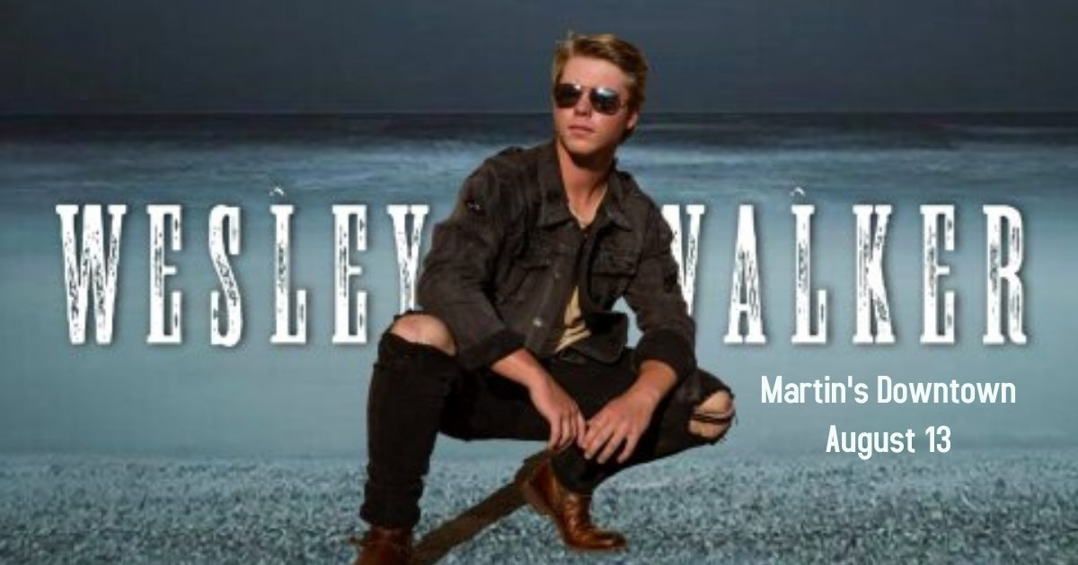 Wesley Walker Live at Martin's Downtown