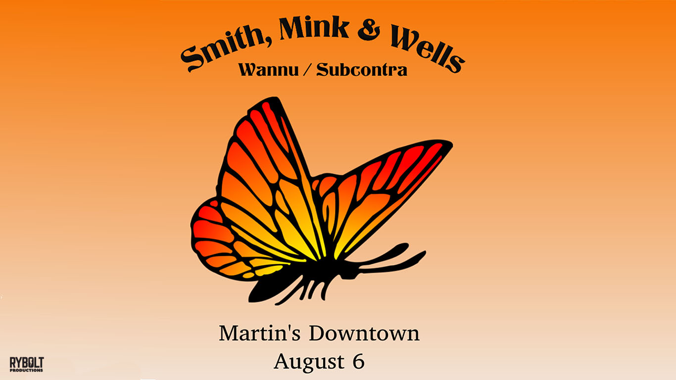 Smith, Mink, & Wells (Wannu / Subcontra) at Martin's Downtown