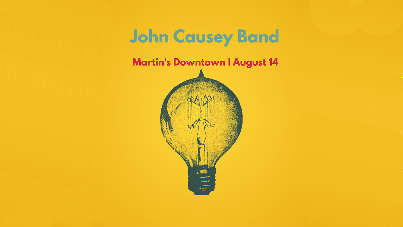 John Causey Band Live at Martin's Downtown