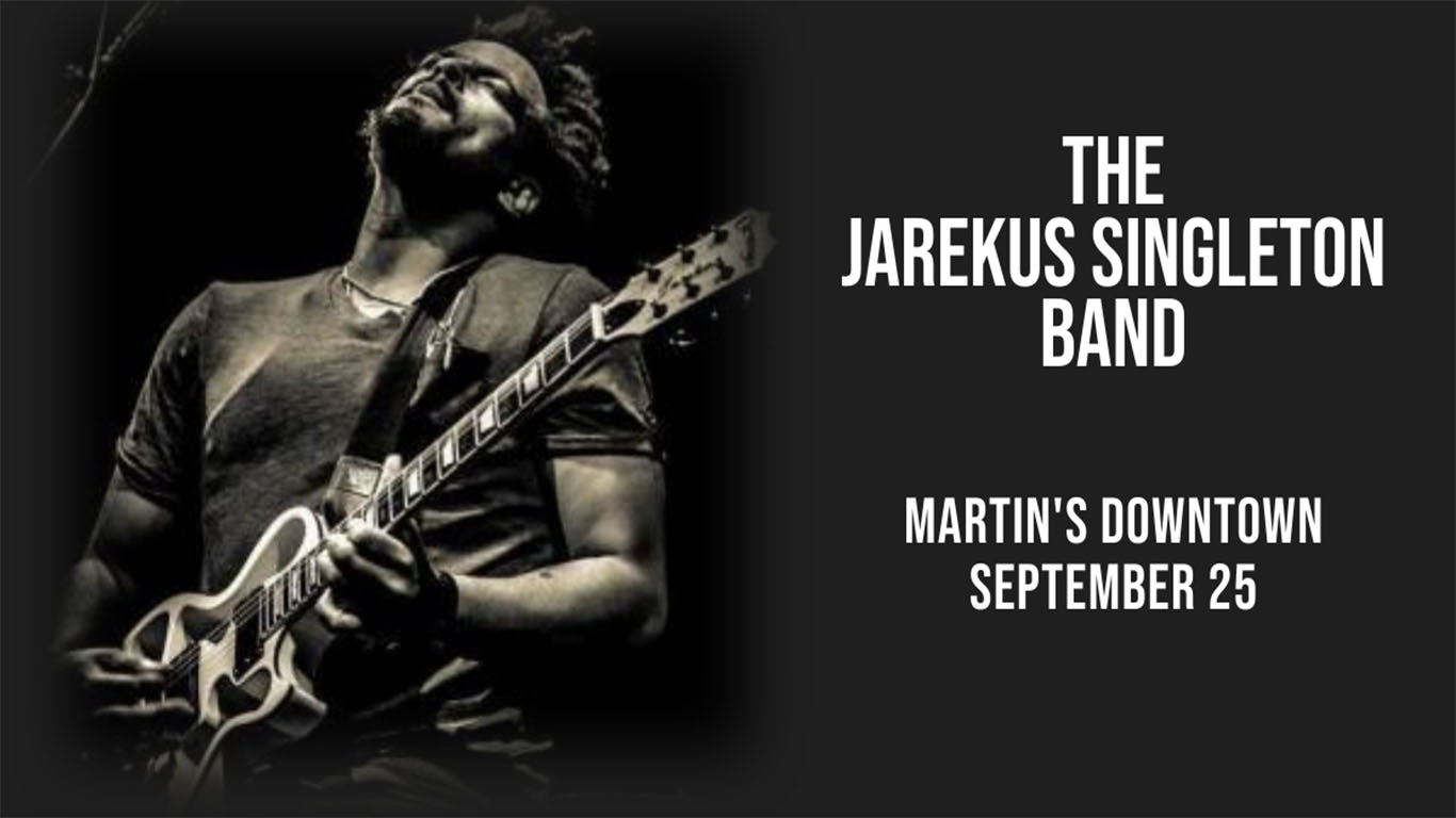 The Jarekus Singleton Band Live at Martin's Downtown