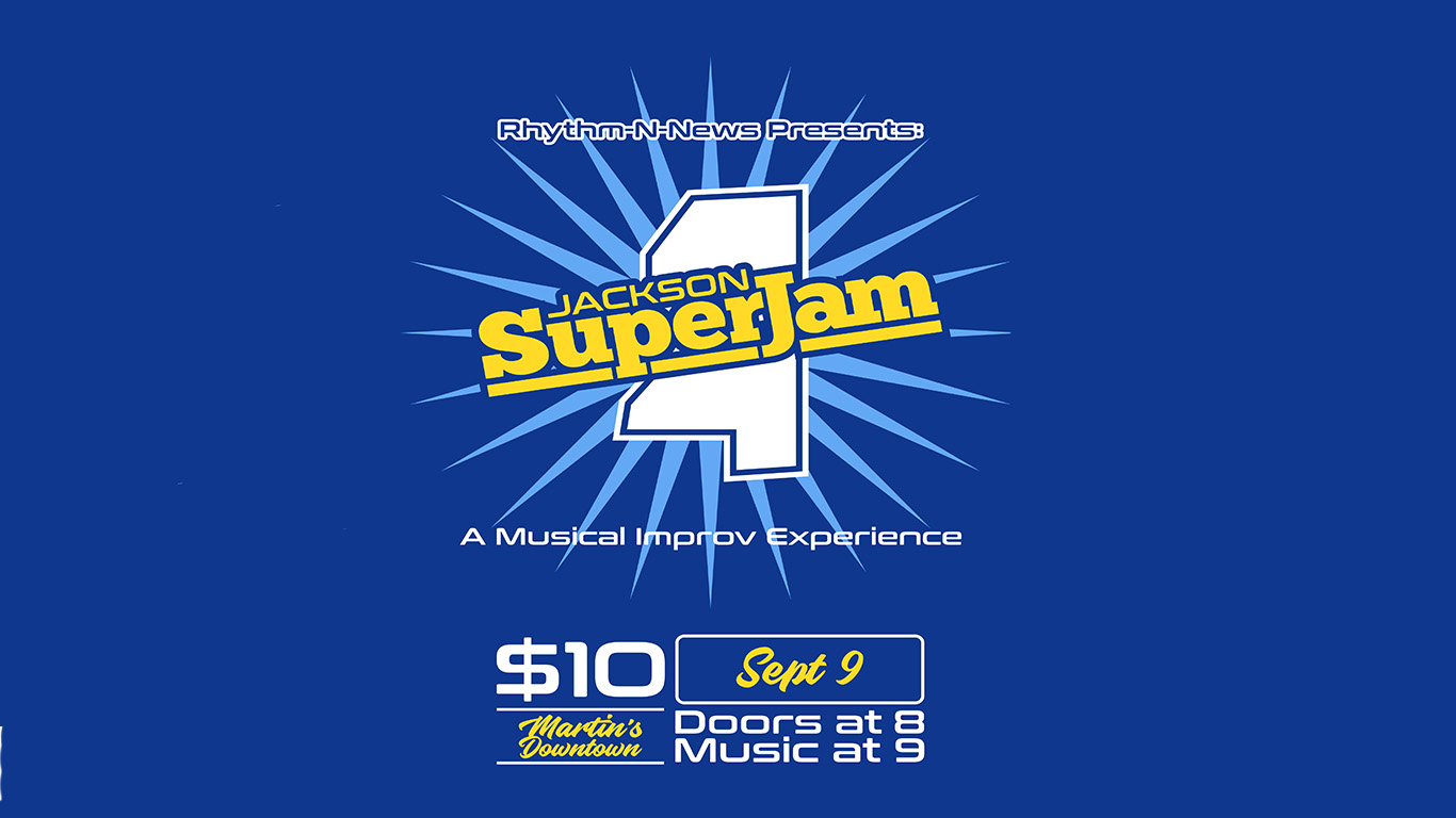 Rhythm-n-News Jackson SuperJam at Martin's Downtown