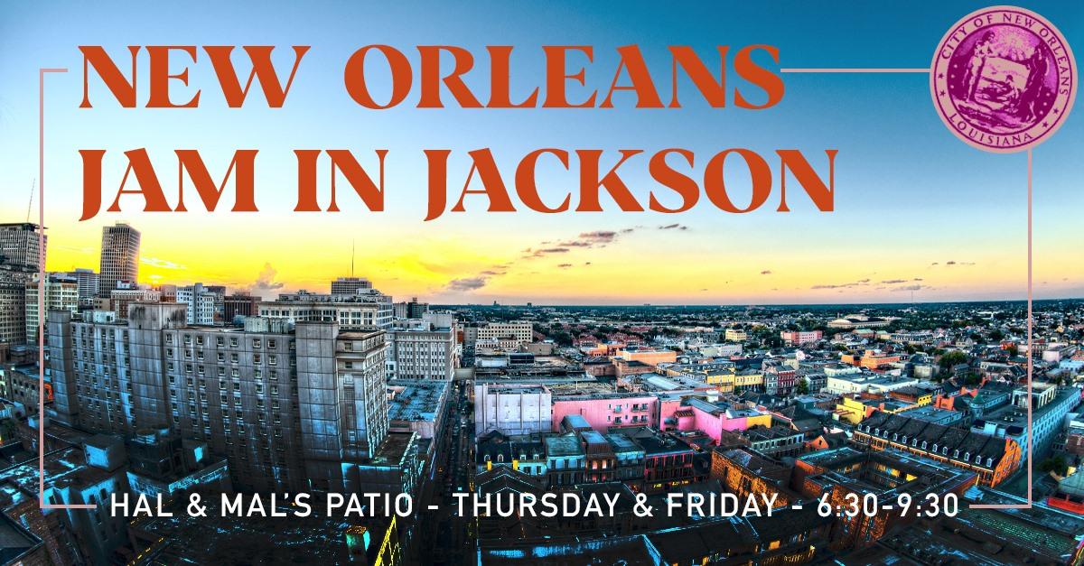 New Orleans Jam in Jackson!