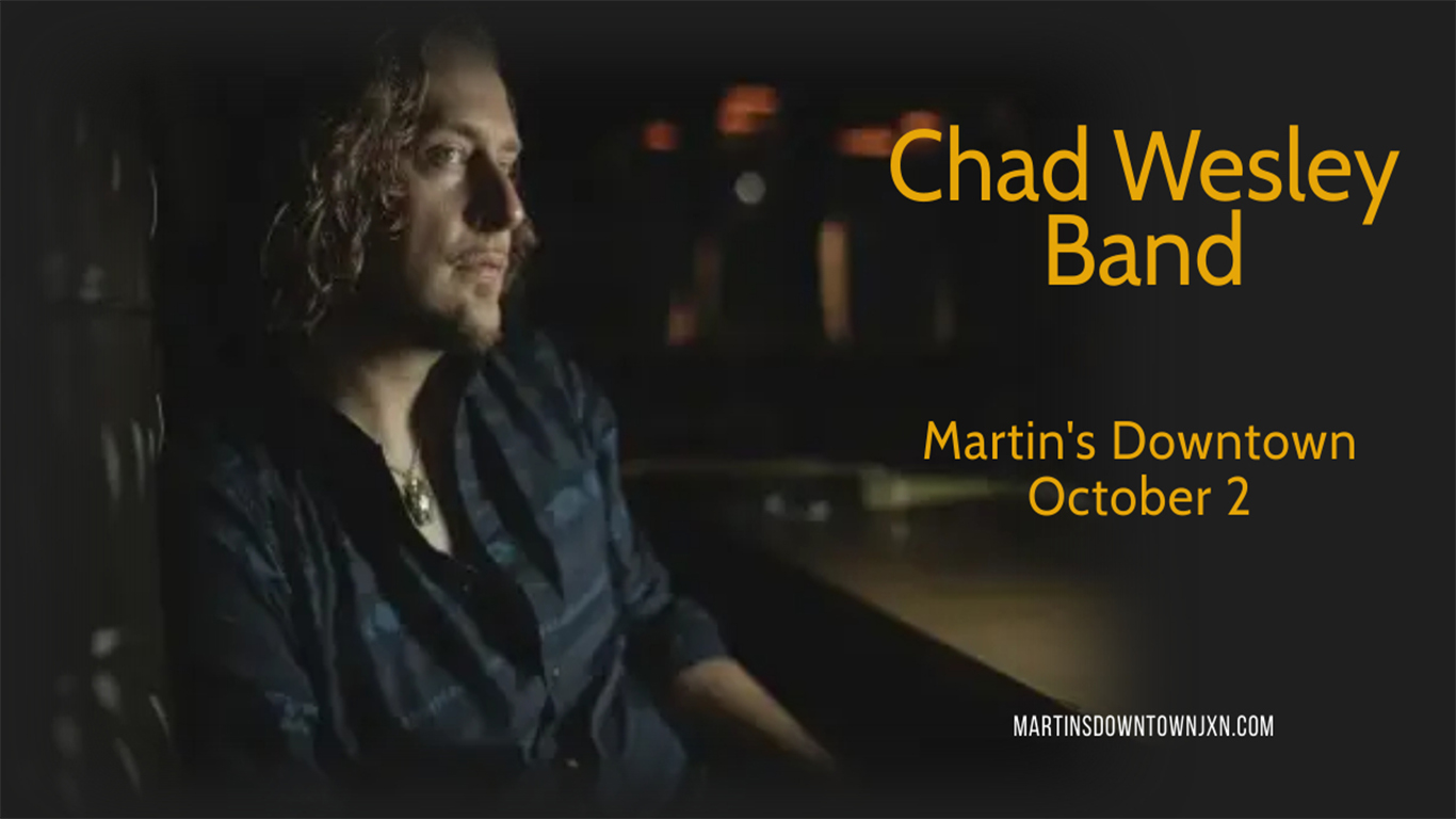 Chad Wesley Band Live at Martin's Downtown