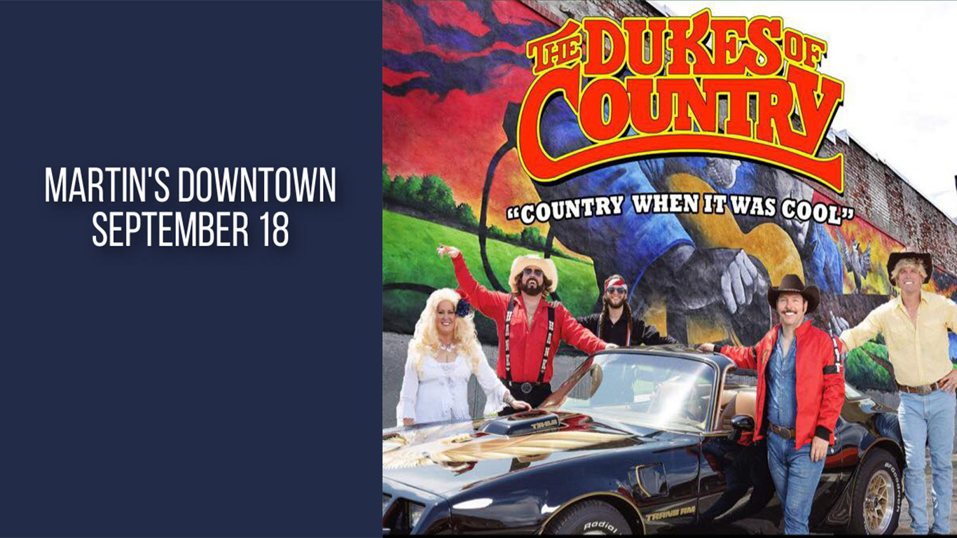 The Dukes of Country Live at Martin's Downtown